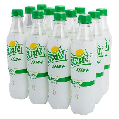 雪碧 Sprite 雪碧纤维+ 柠檬味零卡零糖汽水饮料 当季新品网红版 500ml*12瓶/箱 可口可乐出品