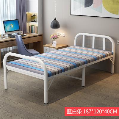 家装好货折叠床单人床家用简易床双人办公室午休床1.2米行军床木板床放心购