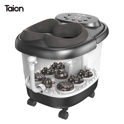 泰昌TC-09AZ4H泡腳桶足浴盆全自動洗腳盆電動按摩加熱恒溫高深桶