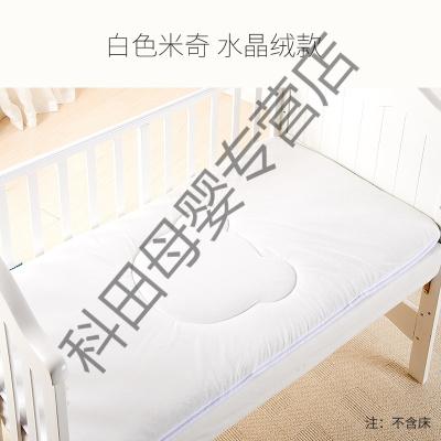 幼儿园床垫婴儿床垫被午睡儿童床褥子宝宝铺被四季通用垫子应学乐 米奇款-白色 100*56