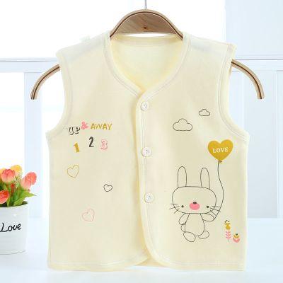 嬰兒馬甲夏季薄款新生兒童小背心男女寶寶坎肩單上衣洋氣外穿 臻依緣