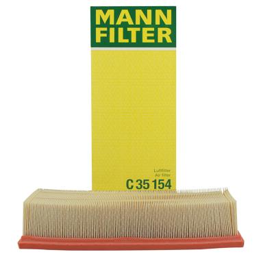曼牌(MANNFILTER)空氣濾清器C35154速騰明銳昊銳途觀邁騰尚酷CC野帝凌渡1.8TSI 2.0TSI
