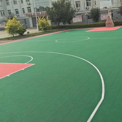 益动未来室外篮球场地板 悬浮式拼装地板 可移动式运动地板 1片价格