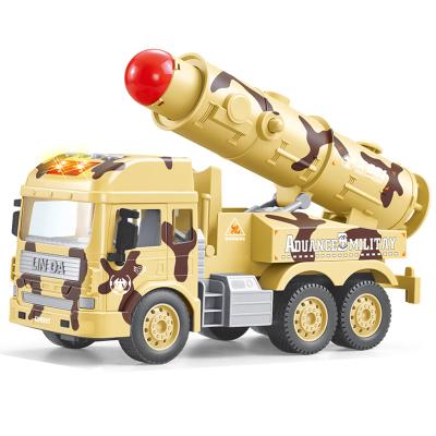 林达-会讲故事的军事系列车-洲际导弹车8030-45早教惯性车儿童益智玩具车