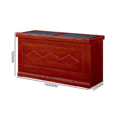 富和美環保實木油漆演講臺培訓桌會議發言臺條形臺62演講臺 2 米
