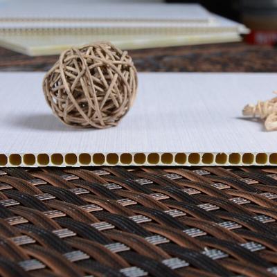 竹木纤维集成墙板全屋整装墙面快装扣板护墙板装修材料吊顶板pvc