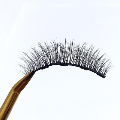 神器磁石假睫毛貼自然款仿真磁力磁吸鐵磁性免膠水女抖音夾子 定制