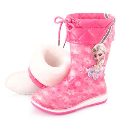 兒童雨鞋男童女童秋冬中大童膠鞋幼兒小孩雨靴寶寶水鞋