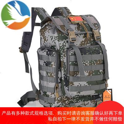 户外登山包双肩40L男特种兵旅行运动包大容量军旅战术背包