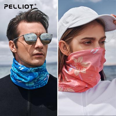 伯希和戶外百變魔術頭巾男女夏季多功能脖套運動圍脖防曬騎行面罩