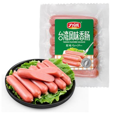力诚台湾风味烤肠150g/袋 脆皮火腿肠烤肠热狗休闲零食小吃即食台式香肠
