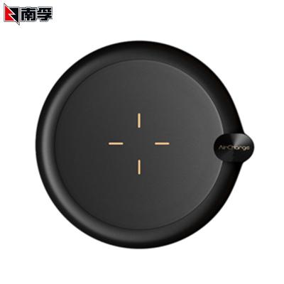 南孚(NANFU)無線充電器usb商務款黑色10W快充支持蘋果三星華為安卓手機快充 數碼寶