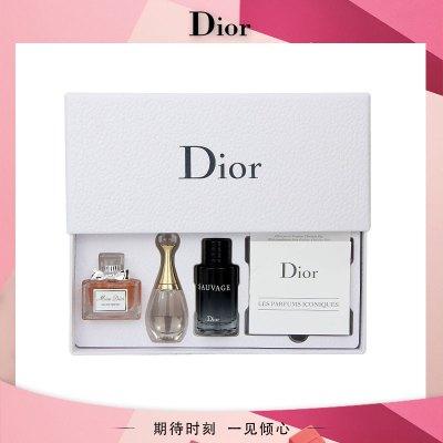 迪奧(Dior) 香水套裝(真我香氛5ml+小姐香氛5ml+曠野男士淡香水10ml)