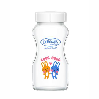 【碎瓶必買】布朗博士 寬口玻璃儲奶瓶母乳保鮮多用儲物罐 270ml