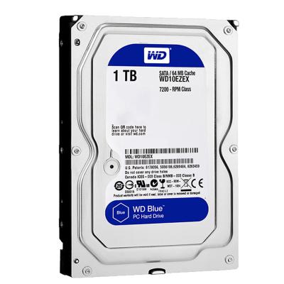 WD/西部数据 WD10EZEX 西数1T 机械硬盘 台式机电脑1TB蓝盘 sata硬盘 7200