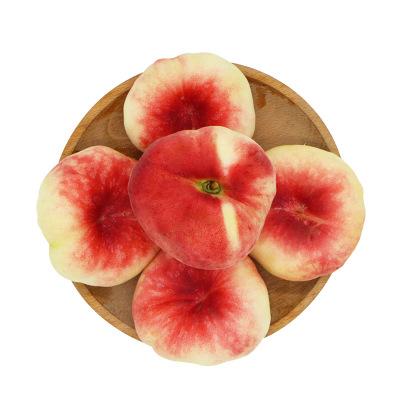 果貴緣 蟠桃水蜜桃毛桃 新鮮蟠桃 禮盒1.5kg 新鮮水果 蘇寧生鮮
