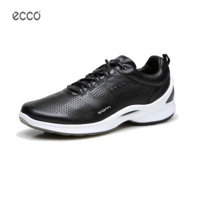 ECCO爱步男鞋春夏新款户外运动鞋透气系带务防滑低帮休闲鞋 837514