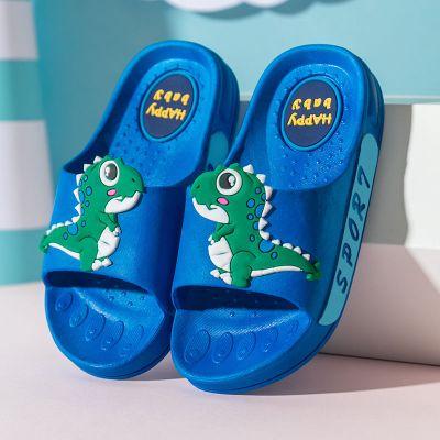 恐龍兒童拖鞋夏男童幼兒親子男室內家用女童防滑涼拖鞋小孩女寶寶 莎丞