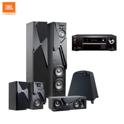 JBL STUDIO 190+安橋 TX-SR494功放 音響 音箱 5.1聲道 家庭影院套裝 落地影院 高保真
