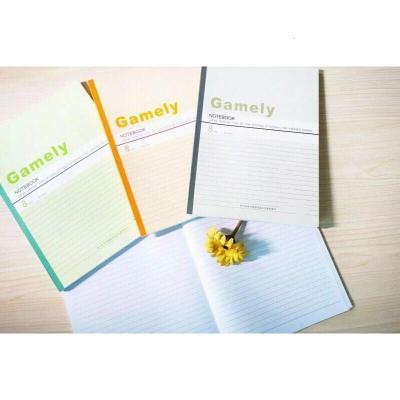紙質筆記本 A5 B5 A4 30/40/60頁 軟皮抄 軟抄本 筆記本 紙質商務筆記