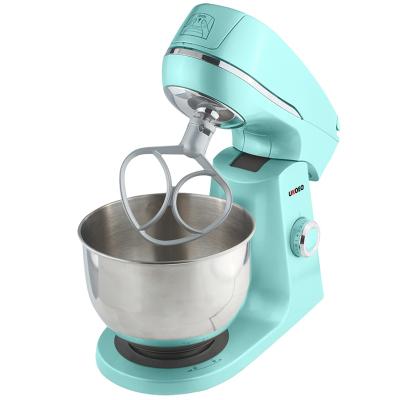 UKOEO HBD-803厨师机5升家用和面机商用奶油打发机搅拌机鲜奶机
