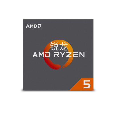 AMD 銳龍 5 2600 處理器 (r5) 6核12線程 AM4 接口 3.4GHz 盒裝CPU