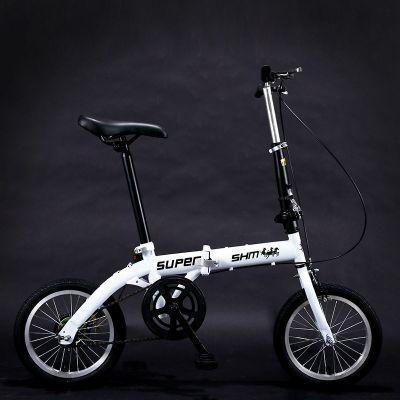 16寸變速折疊迷你便攜成人兒童學生男女款小輪雙碟剎自行車