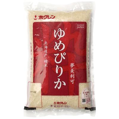 日本原裝進口北海道產夢美利可大米2kg軟糯香米壽司米特A級
