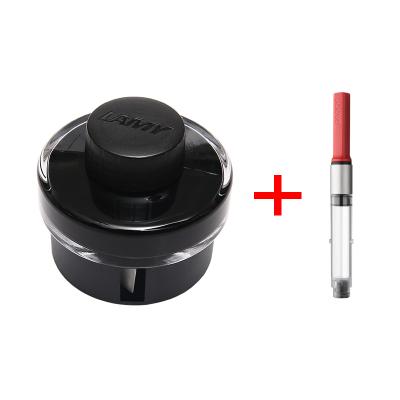 【组合装】LAMY凌美 德国原装进口 T52非碳素 瓶装墨水 黑色 50ml + Z28吸墨器 1支装
