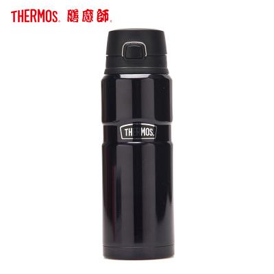 膳魔師(THERMOS) 保溫杯SK4000大容量710ML水杯304不銹鋼戶外辦公長效保溫保冷一鍵開啟出行家用/通用