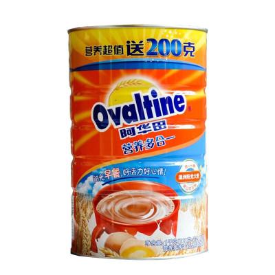 阿華田 (Ovaltine )可可粉 營養早餐代餐 奶茶沖飲 蛋白型固體飲料 罐裝 (800g+200g) 1KG