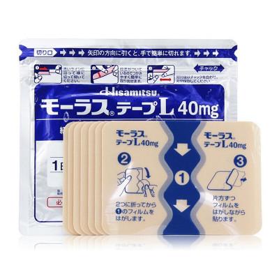 日本撒隆巴斯久光(Hisamitsu)鎮痛貼 紅花緩解風濕關節疼痛肩頸痛腰痛久光膏貼久光制藥7枚*1袋