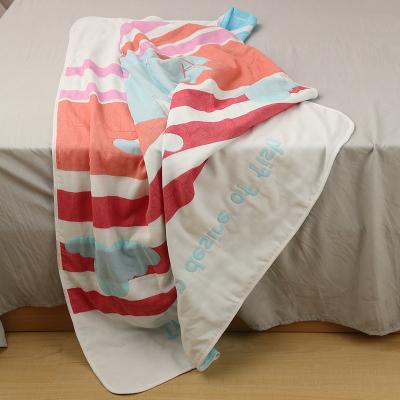 睿智媽媽witmoms童被 嬰童新生兒夏涼被 空調被 蓋毯子六層紗布全純棉抱被抱毯包被