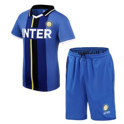 国际米兰足球俱乐部官方运动套装-蓝黑色 (Inter Milan)