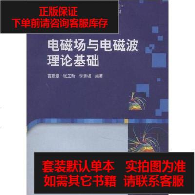 【二手8成新】电磁场与电磁波理论基础 9787030261373