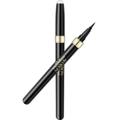 雅邦(ALOBON)縱情畫速干眼線水筆1.2ml (不間斷不暈染 持久防水防汗 眼線液筆 彩妝)