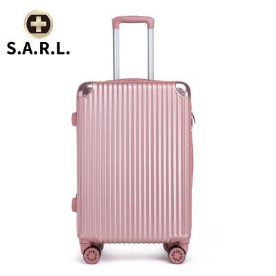 S.A.R.L брэндийн чемодан 78001 тод ягаан 28 инч