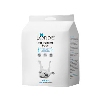 LORDE尿垫XL码20片装 狗狗训练导尿片 除臭加厚吸水尿片 狗狗尿不湿