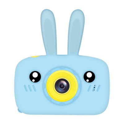 小愛兒童相機卡通數碼照相機抖音同款玩具迷你小高清單反拍照相機男孩女孩學生玩伴六一生日禮物 藍色款