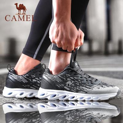 CAMEL駱駝戶外運動鞋 2019新款男款柔軟減震防滑耐磨運動跑步鞋