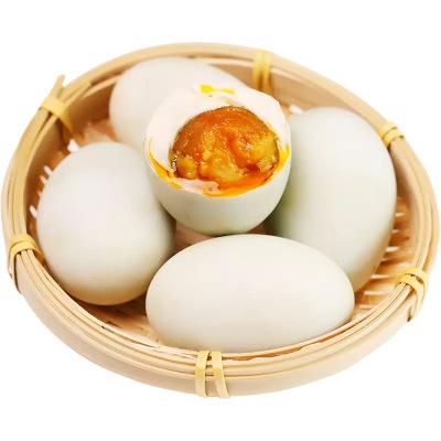 含昭 農家黃泥熟咸鴨蛋大顆60-70g*20枚 熟咸鴨蛋不咸淡非海鴨蛋1200g 華東