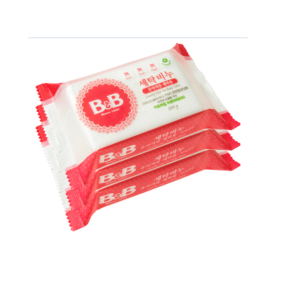 B&B 保寧 嬰兒天然抗菌甘菊香洗衣皂 200g*3