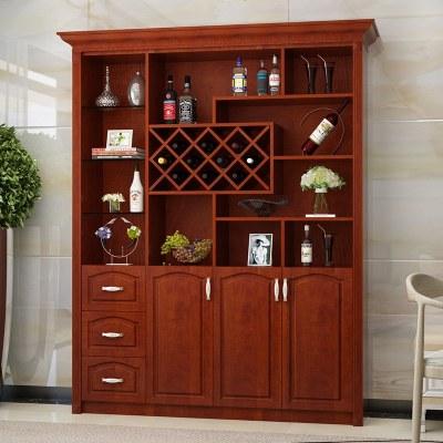 顾致欧式酒柜鞋柜一体白色客厅靠墙餐厅隔断定制现代简约餐边柜