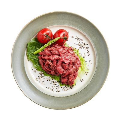 潮香村 黑椒牛柳160g 进口原料 速冻牛肉 调理方便菜