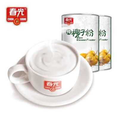 官方旗舰店 春光食品 海南特产 椰子粉 春光纯椰子粉400g*2 罐装