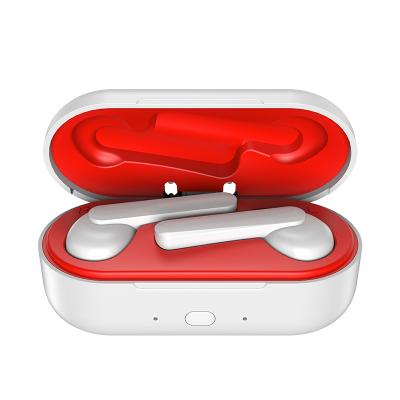 洛克空间糖豆 立体声入耳式5.0蓝牙耳机充电盒 功耗低防水10超远传输探索原声