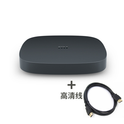 xiaomi/小米 小米盒子4SE高清网络智能电视机顶盒4K家用语音盒子【直播版】含高清线