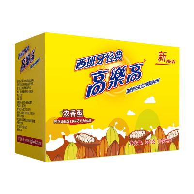 高樂高巧克力粉可可粉沖飲18g*20袋西班牙經典口味固體飲料