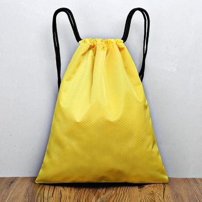 定制束口袋抽繩雙肩包防水背包男女運動健身足球訓練包籃球收納袋八月七