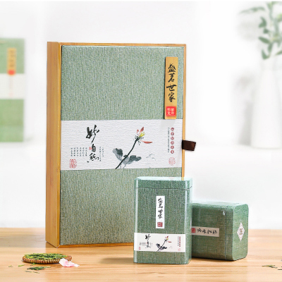 2020新茶 盛茗世家茶葉 西湖龍井工藝綠茶明前特級禮盒裝250g(凝綠)